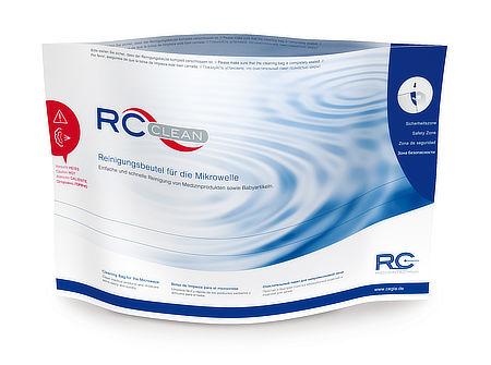 RC-Clean Reinigungsbeutel für die Mikrowelle