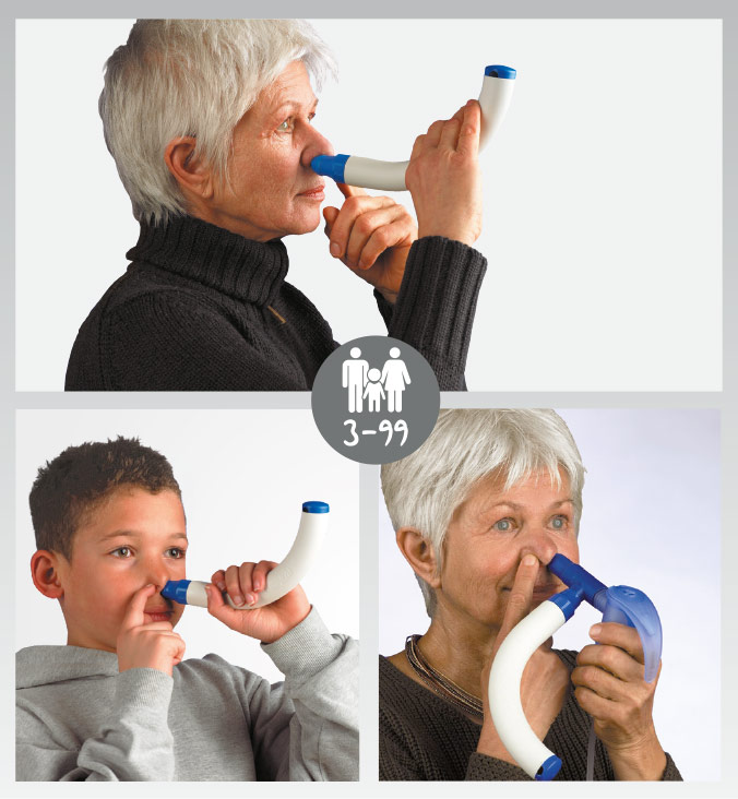 RC-Cornet® N Nasencornet Anwendung