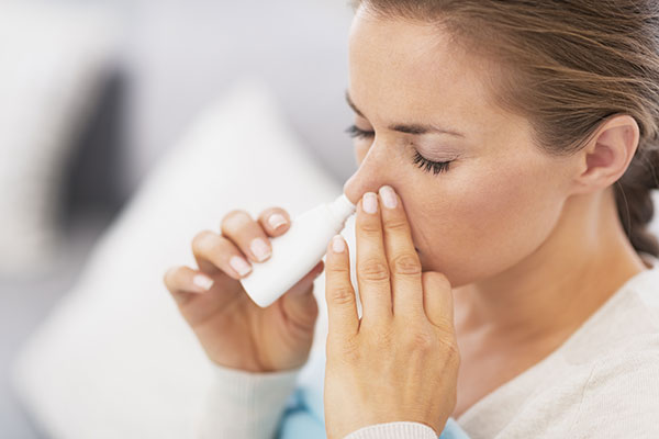Nasenspray Sucht