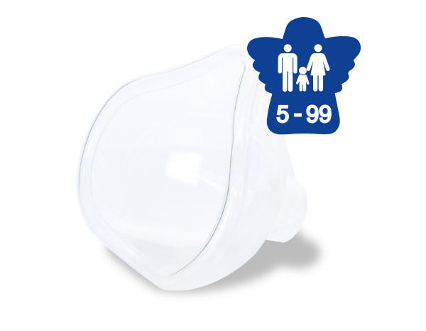 RC-Maske für Erwachsene und Kinder ab 5 Jahren