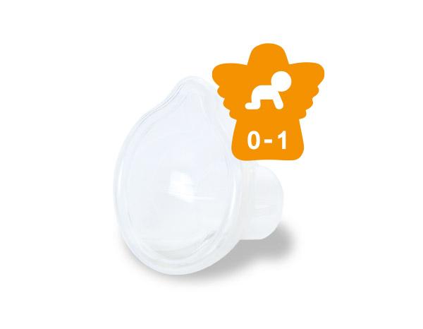 RC-Maske für Säuglinge 0 – 1 Jahr